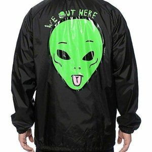 RIPNDIP We Out Here Coach Jacket size XL
